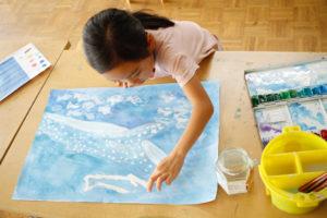 金沢美術学院のこども絵画教室