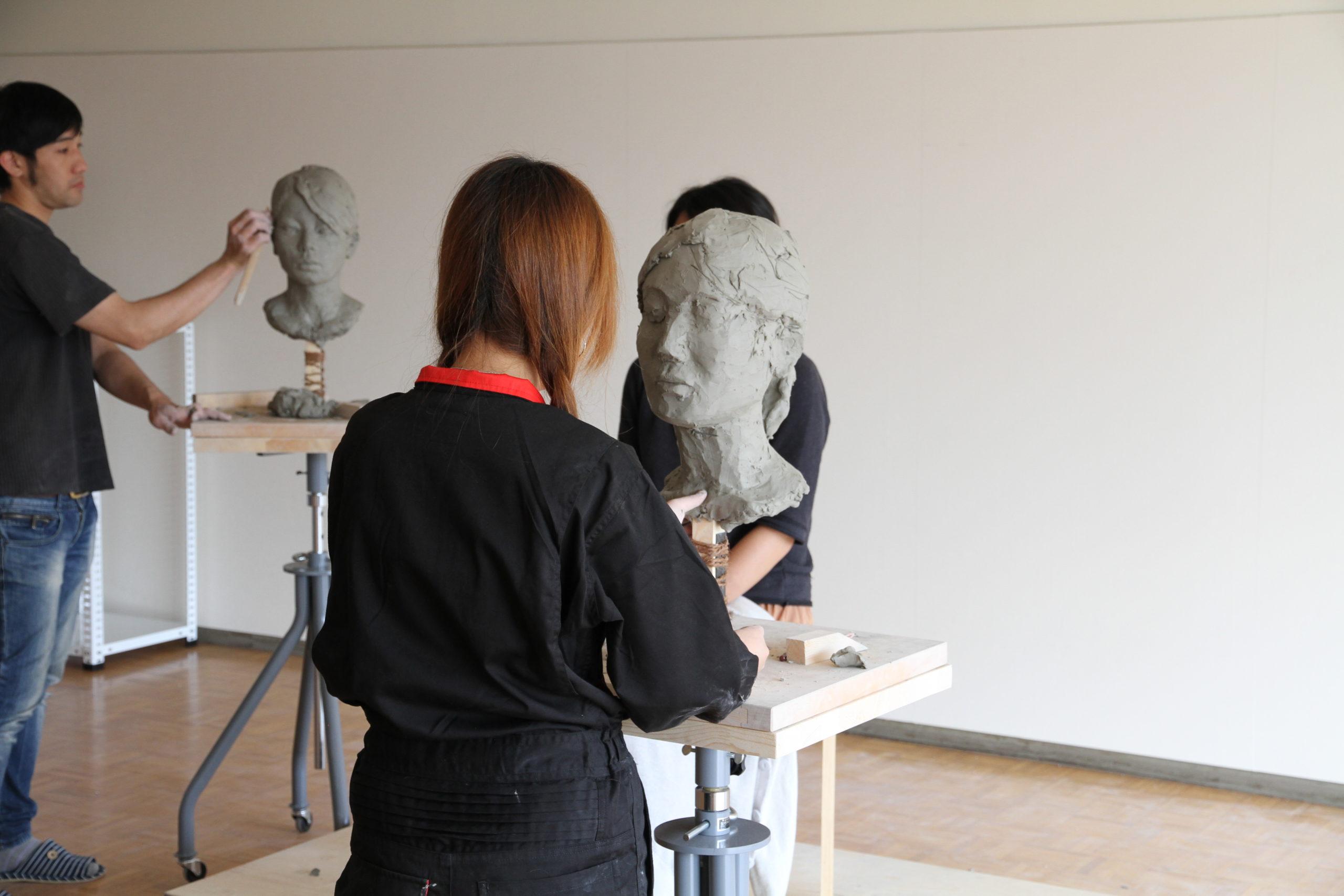 金沢美大の彫刻を受験